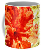 Brilliant Hibiscus Coffee Mug