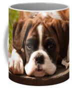 Brindle Boxer Pup Coffee Mug