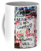 Bring Peace Coffee Mug