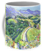 Briones Crest In May, Lafayette, Ca Coffee Mug