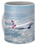 British Airways Airbus A380-841 Coffee Mug