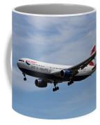 British Airways Boeing 767 Coffee Mug