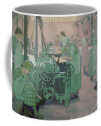 British Industries - Cotton Coffee Mug by Frederick Cayley Robinson