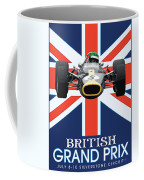 British Lotus Coffee Mug