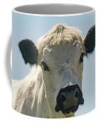 British White Cow Coffee Mug
