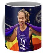 Brittney Griner Lgbt Pride 3 Coffee Mug