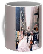 Broadway And 42nd Street 1985 Coffee Mug