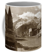 Broadway In Skagway Alaska Street Scene Circa 1957 Coffee Mug