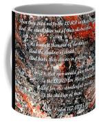 Broken Chains With Scripture Coffee Mug