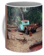 Broken Down Pickup Truck Coffee Mug