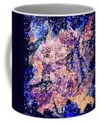 Broken Glass And A Snowstorm Coffee Mug