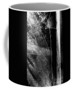 Broken Glass Window Coffee Mug