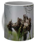 Broken Root Stump In Water  Coffee Mug