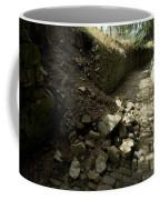 Broken Stone Wall Cascades Stones Coffee Mug