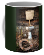 Broken Toilet Coffee Mug by Carlos Caetano
