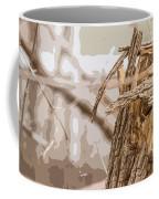Broken Tree Base Coffee Mug