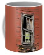 Broken Window Frame Coffee Mug