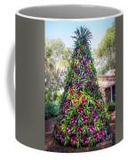 Bromeliad Christmas Tree At Pinewood Estate, Bok Tower Coffee Mug