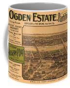1909 Bronx New York Realtor Flyer Coffee Mug