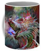 Bronze Dragon Head Coffee Mug