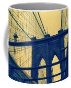 New York City's Famous Brooklyn Bridge Coffee Mug