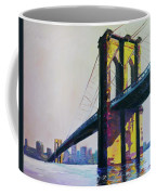 Brooklyn Bridge, N Y  Coffee Mug