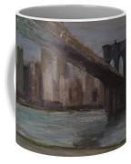 Brooklyn Bridge Painting Coffee Mug