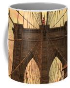 Brooklyn Bridge Sunset Coffee Mug