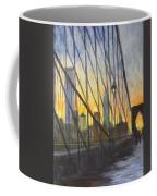 Brooklyn Bridge Wires Coffee Mug