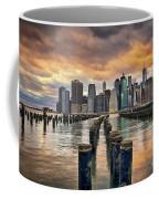 Brooklyn Pilings   Coffee Mug