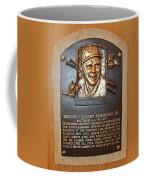 Brooks Robinson Hall Of Fame Plaque Coffee Mug