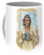 Brother Wolf - Grandmother Issi Coffee Mug by Brandy Woods