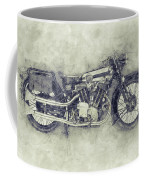 Brough Superior Ss100 - 1924 - Motorcycle Poster 1 - Automotive Art Coffee Mug