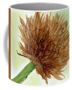 Brown Abstract  Coffee Mug