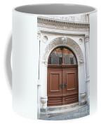 Brown Door Coffee Mug