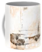 Brown Gray Abstract 12m4 Coffee Mug