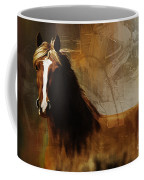Brown Horse Pose Coffee Mug