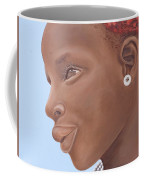 Brown Introspection Coffee Mug by Kaaria Mucherera