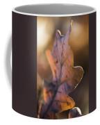 Brown Leaf Coffee Mug