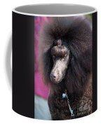 Brown Medium Poodle Coffee Mug