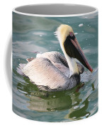 Brown Pelican In The Bay Coffee Mug