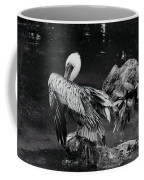 Brown Pelican Coffee Mug