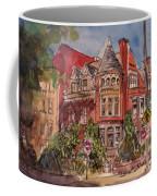 Brownstone On Corcoran Street Coffee Mug