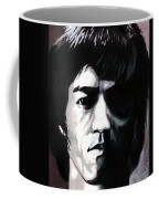 Bruce Lee Portrait Coffee Mug