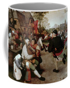 Bruegel, Peasant Dance Coffee Mug