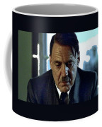 Bruno Ganz As Adolf Hitler Publicity Photo Number Two   Downfall 2004 Color Added 2016 Coffee Mug