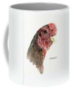 Bruno The Ko Shamo Rooster Coffee Mug