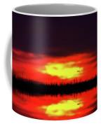 Brush Fire Sunset Coffee Mug