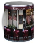 Brussels - Restaurant La Villette Coffee Mug by Carol Groenen