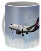 Brussels Airlines Sukhoi Superjet 100-95b Coffee Mug